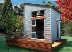 NOMAD Micro Home: Ultra Modern, Sustainable Tiny House Kit, 10X10, Off Grid