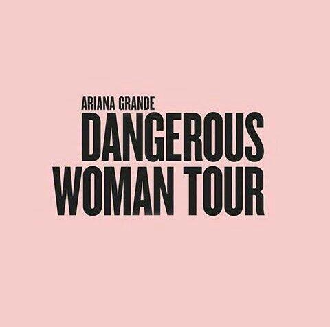 Imagem de black and pink, tour, and dangerous woman
