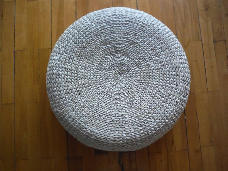 25 Best Ideas About Floor Pouf On Pinterest Crochet