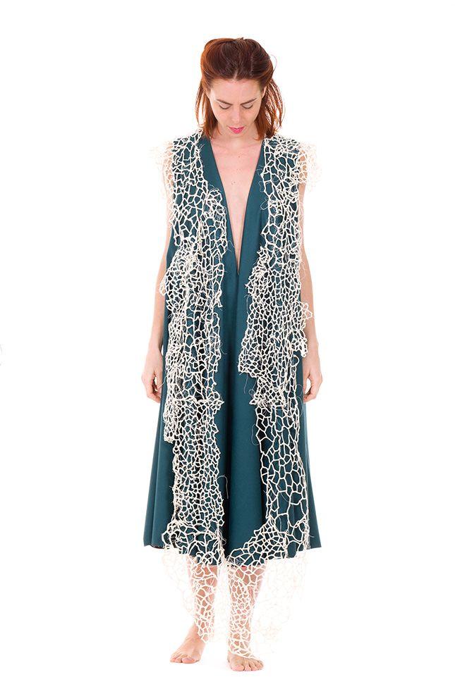 Officine Nora - Valentina Caprini #fuorisalone #din2016 #jewel #likeascarf #art #contemporaryjewels #pinDin