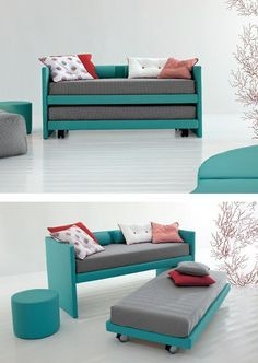 Trundle #bed on casters 2MUCH! by Twils @mytwils