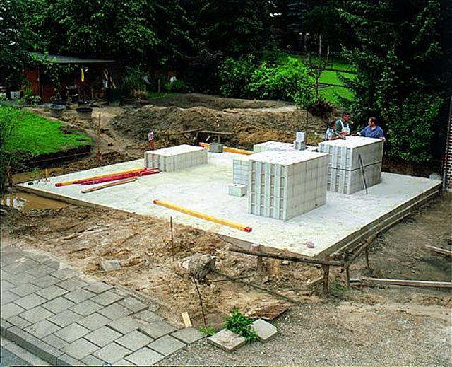 Wir haben den Bau einer Massivgarage begleitet und zeigen die wichtigsten Schritte beim Mauern und Verputzen – so können Sie selber eine Garage bauen