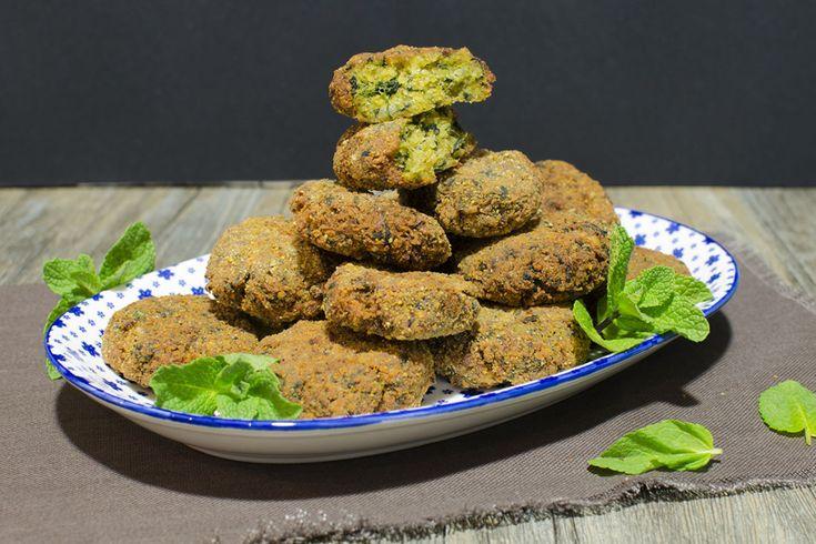 Croquetas de garbanzos con espinacas y hierbabuena | Cookinaria | Recetas Mycook