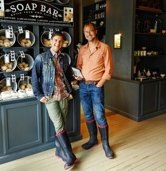 Fab Boys: Those Fabulous Beekman Boys In Their Matching Rubber Boots