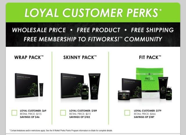 These are just a few of the perks of being a Loyal Customer.  Lost getting a discount.   www.crazywonderwraps.com