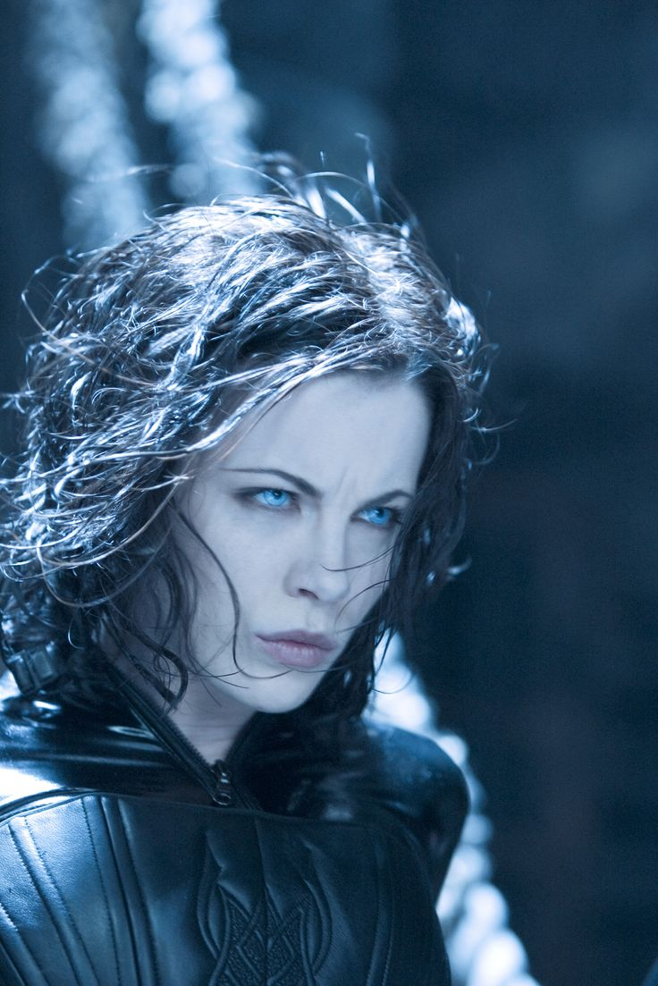 Kate Bekinsale as Seline in all of the Underworld movies