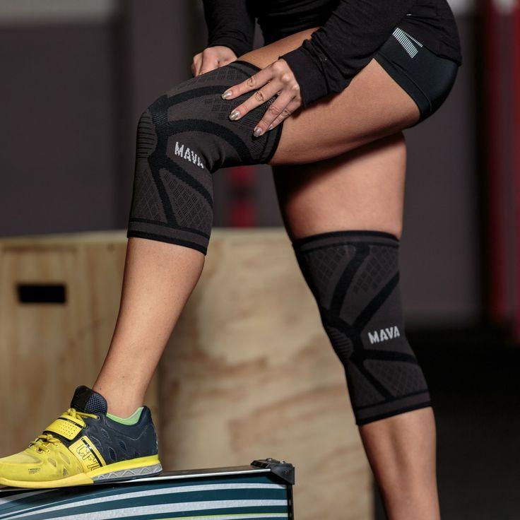 Mava Sports Knee Compression Sleeve - Alleviate arthritis, tendonitis, sprains and knee strain pain - On Sale Now!
