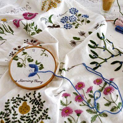 embroidery kit by yumiko higuchi: