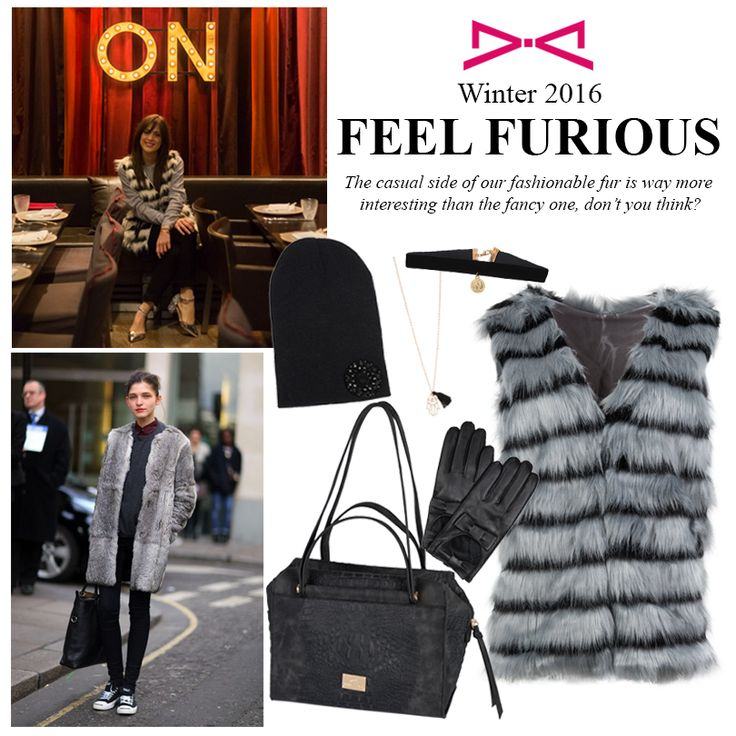 Felling Furious today? That's because you haven't tried yet the casual side of our luxe fur!