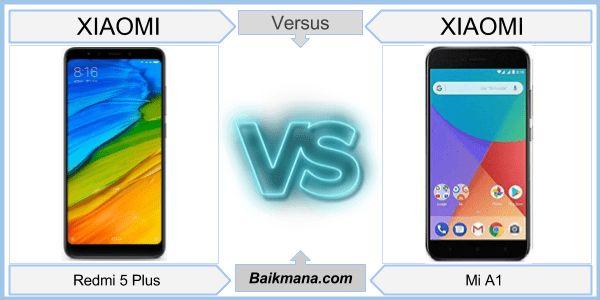 Xiaomi Redmi 5 Plus vs Xiaomi Mi A1