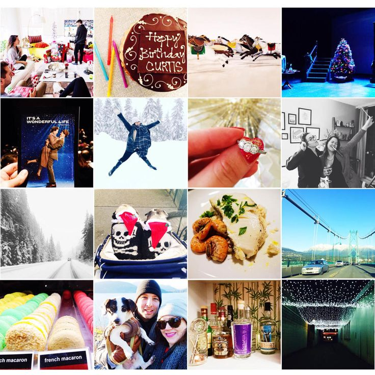A quick recap of my Christmas holiday! I shared what we got up to this holiday season on the blog. Ate lots of good food, took in some art, celebrated a birthday and saw a play!
