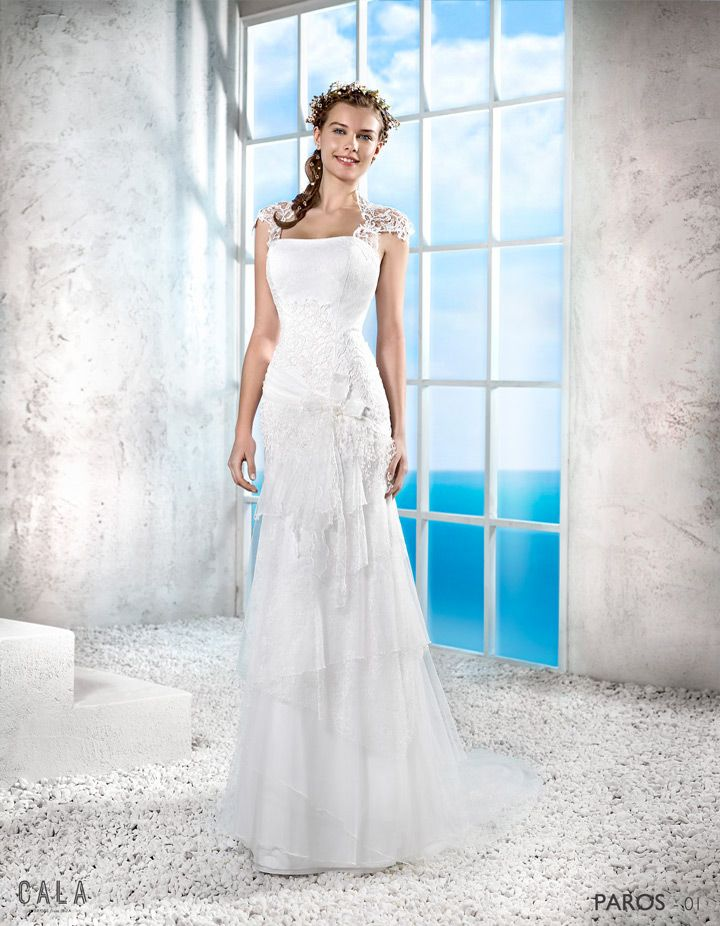 paros | bohemian wedding dress 2016 - 1 | cala 2016 | pinterest