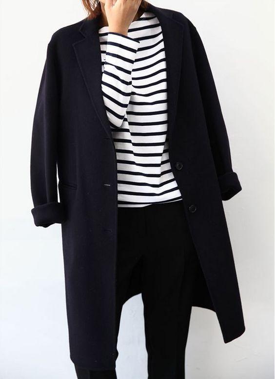 Wir finden dieses Minimal Outfit super und empfehlen unsere Paul Green Sneaker dazu! #paulgreen Zu finden unter: paul-green.com