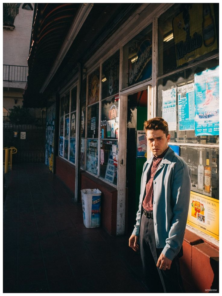 Xavier Dolan Featured in Interview Magazine February 2015 Shoot, Chats with Jessica Chastain