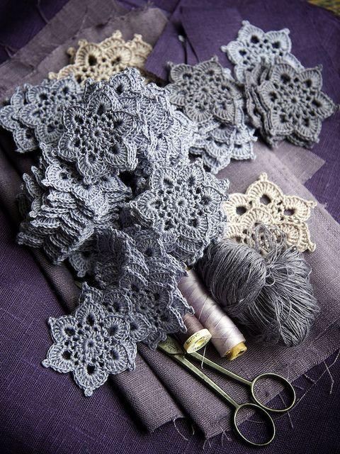 beautiful crochet stars