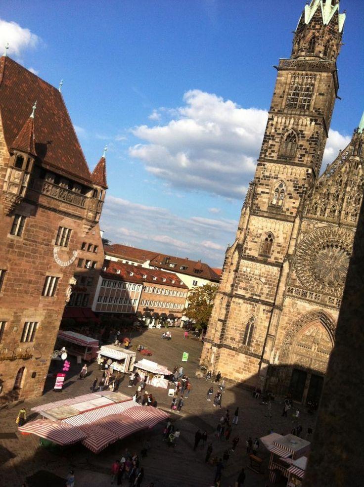 WG-Zimmer mit Aussicht in Nürnberg-Lorenz