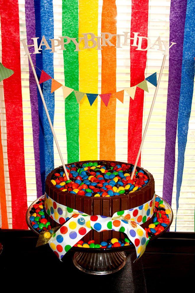 Crayon PartyBday Ideas, Birthday Parties, Candies Bowls, Rainbow Cakes, Rainbows Parties, Parties Ideas, Party Cakes, Rainbow Parties, Birthday Ideas