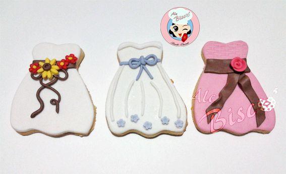 Biscotti per comunione #cookies #birthdaycookie #cakedesign #fondant #dresscookie