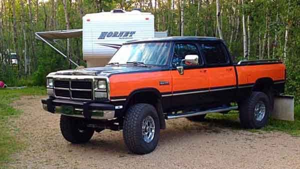 My story begins when I was looking through the classified ads and spotted what appeared to be a rust free 1982 Dodge Ram W350 crew cab. After endless emails back and forth with the truck's owner, Mike Mori, it appeared
