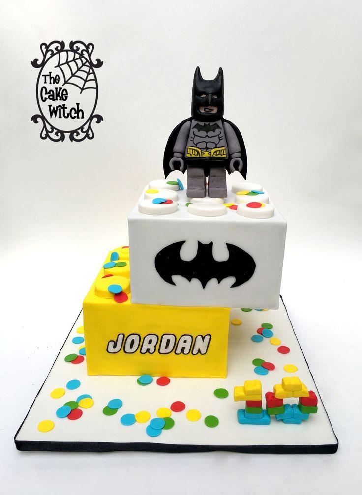 Бэтмен лего картинка на торт