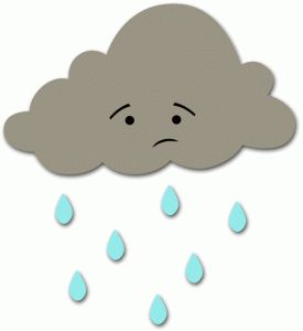 Silhouette Online Store: rain cloud
