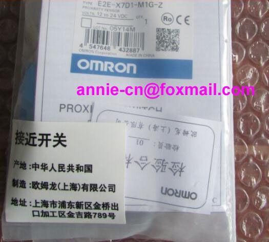 New and original  E2E-X7D1-M1G-Z  OMRON  Proximity sensor,Proximity switch, 12-24VDC