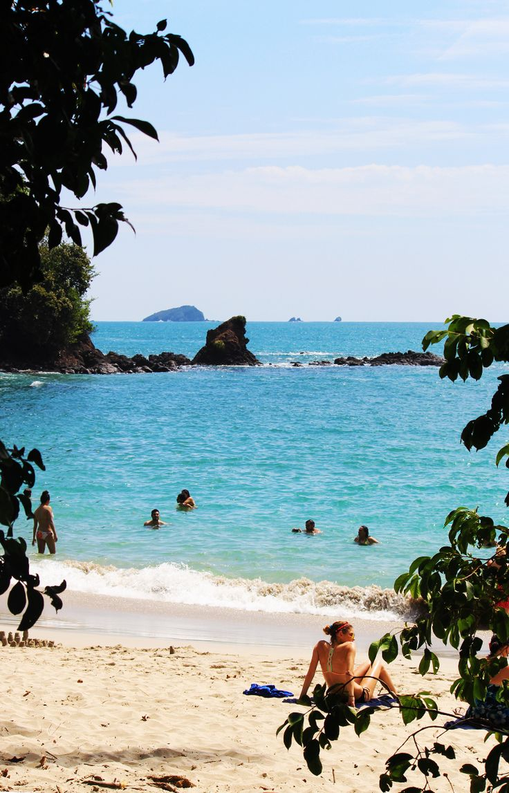 Playa Manuel Antonio, in Manuel Antonio National Park, Costa Rica