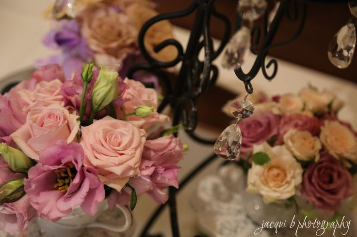 Lovely 70th birthday Centerpieces