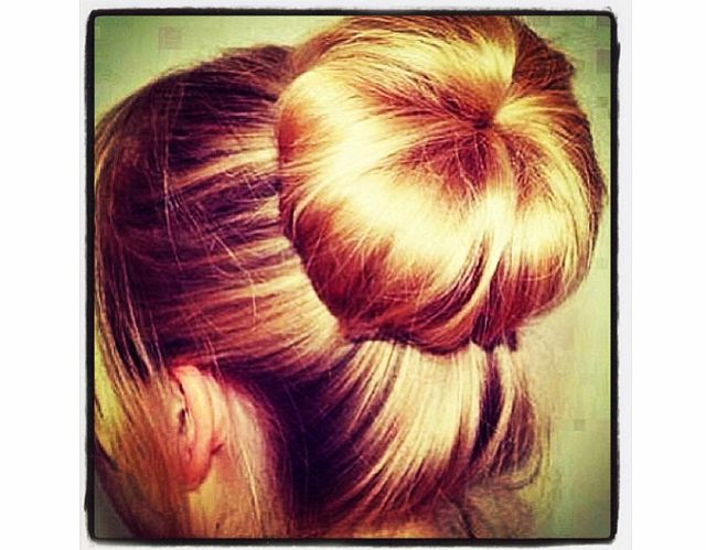 How to Get the Perfect Sock�Bun | Beauty High I am so trying this! :)