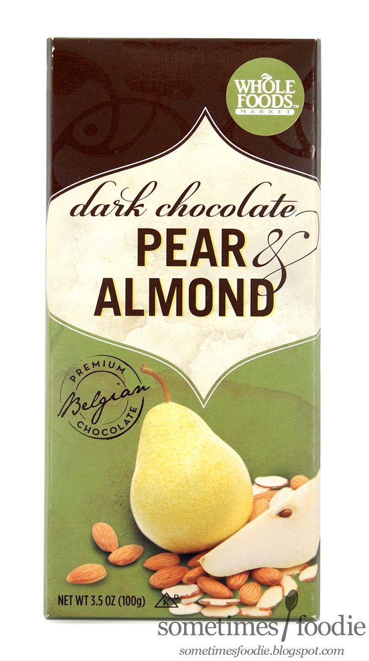Whole Foods Dark Chocolate Pear Almond