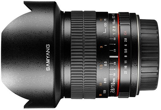 New: Samyang 10mm f/2.8 lens