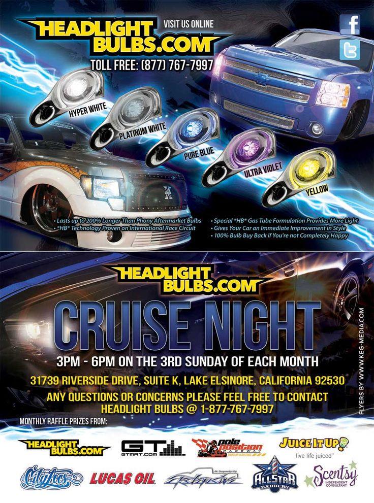 HeadLight Bulbs Monthly Car Show