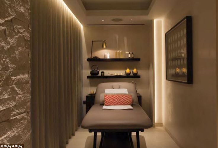 Now that 39 s what you call a conversion former church for Massage room design ideas