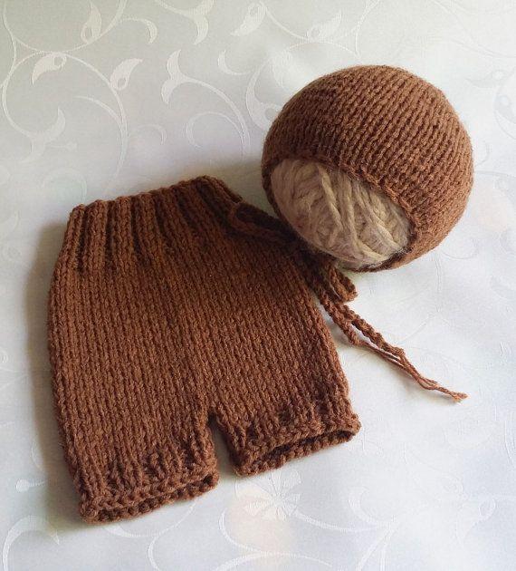 Newborn Prop Set Newborn Short Pants and by SquishyBabyStuff, $32.00
