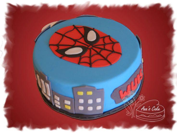 imagenes de decoracion de tortA de HOMBRE ARAÑA - Buscar con Google