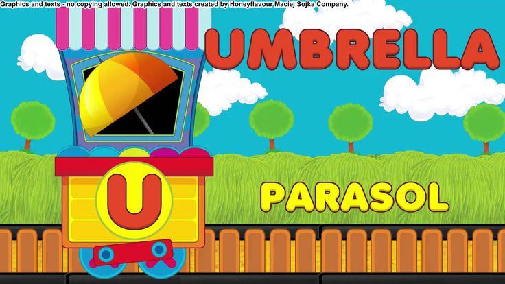Pociąg alfabetyczny - angielski alfabet z przykładami - LEKTOR