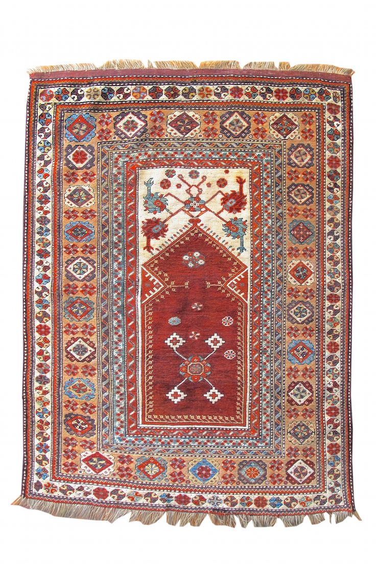 Melas Prayer Rug Melas Prayer Rug Mid 19th C. Turkey