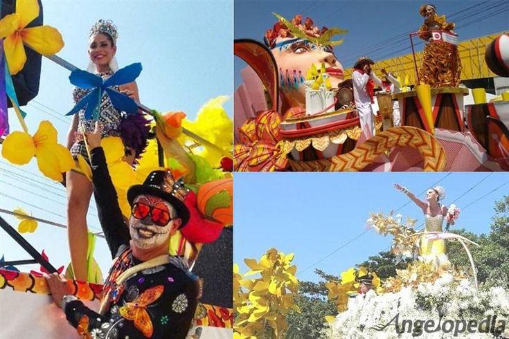 Miss Colombia winners seen in Carnaval de Barranquilla Carnival