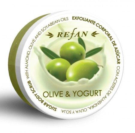 Olíva & Joghurt testradír - Páratlan kombináció a természetes cukorkristályok és a természetes növényi vajak keveréke, melyek lágy habot képeznek. A lenyűgöző illat frissességet ad és elvarázsolja érzékeidet, finoman eltávolítja a felesleges, elhalt hámsejteket. Ez segít távozni a méreganyagoknak és serkenti a bőr légzését. ©Refantázia