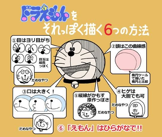 nsx: ドラえもんをヘタに描く事に皆さんが興味がありすぎてびっくりしたので、それっぽく描くのも知って「ヘタ」と「それっぽい」をTPOで使い分けて下さい! http://pic.twitter.com/E0fEfK4pok— もの知り!出木杉くん (@dekisugi_kun_1) January 5, 2016