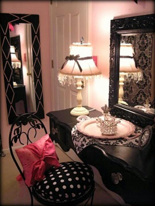 Paris Pretty ~ soft pink, ruffles, eiffel tower, fleur de lis, feminine. inspiration: paris, chanel, dior.