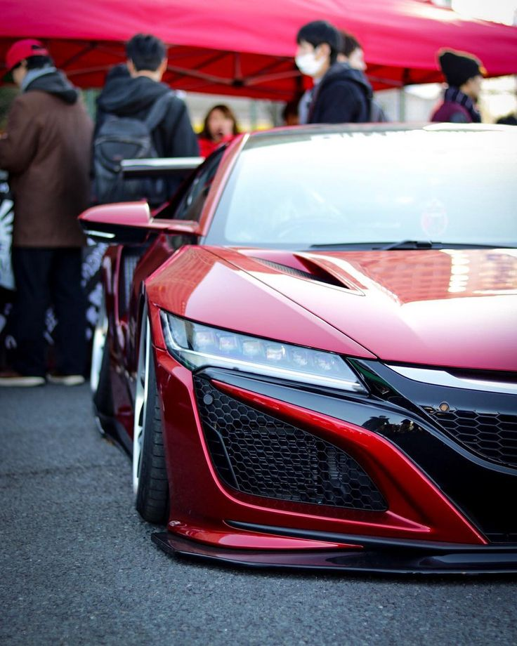 Superieur LB NSX #libertywalk #libertywalknsx #honda #hondansx #nsx #red #clean