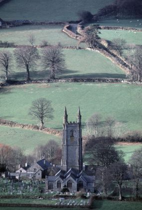 Widecombe-in-the-Moor is a small village located within the heart of the Dartmoor National Park in Devon, England.