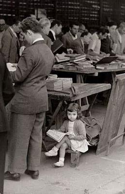 Ramon Massats. En el mercado de San Anton.