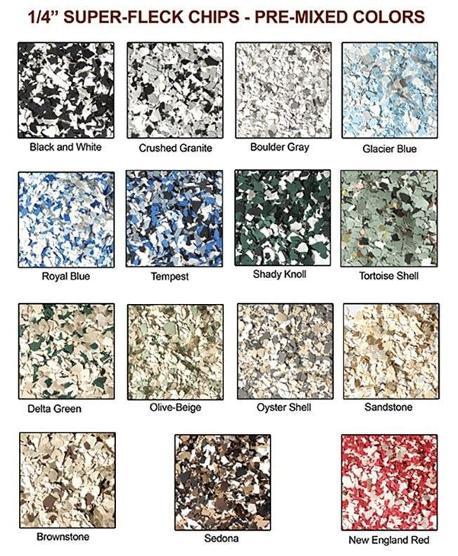 Decorative Flakes Pre Mixed Colors In 2019 Painting