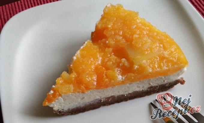 Cheesecake s mandarinkovo-ananasovou želatinou