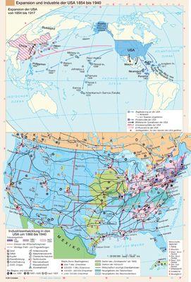 Expansion und Industrie der USA 1854 bis 1940