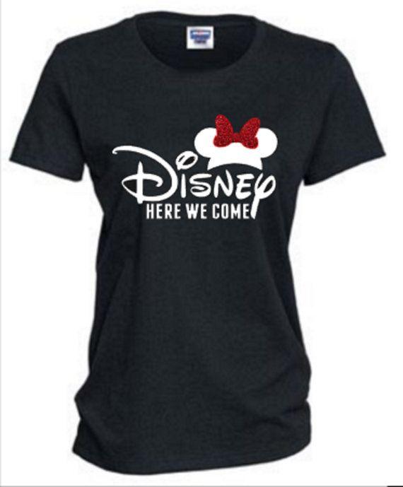 Disney Here We Come Shirt, Disney Group T Shirt, Mickey Mouse Shirt, Ladies Disney Shirt, Disney Shirt, Womens Disney Shirt, RTS Disney
