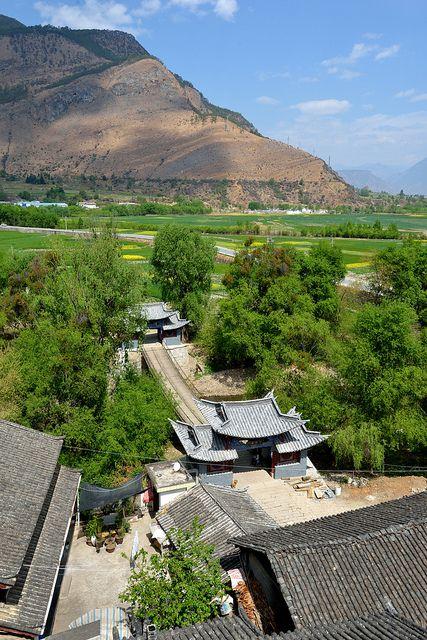 Stone Drum Village, Shigu, Yunnan, China