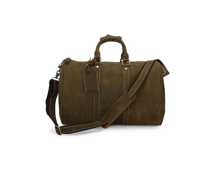 This large duffel bag is made from our wax treated durable leather and has a spacious inside which is nicely lined with durable fabric.